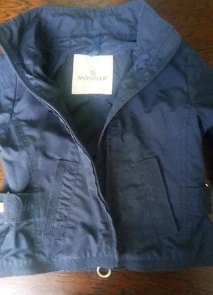 Куртка - ветровка moncler