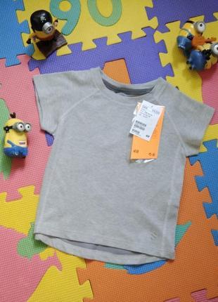 92р h&m sport влагоотводящая футболка