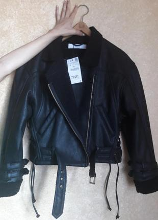 Дубленка куртка zara