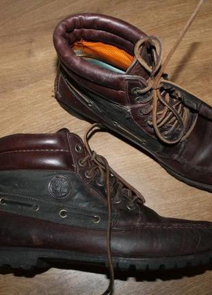 Кожаные ботинки timberland, 42 размер