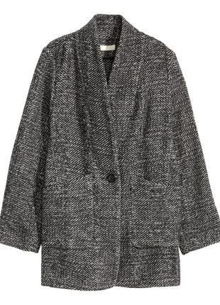 Пальто пиджак h&m