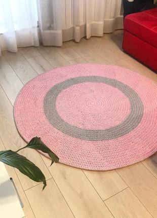 вязаный коврик ручной работы цена 1600 грн 15342312 купить по