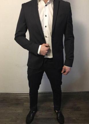 Срочно!!! мужской классический костюм zara оригинал