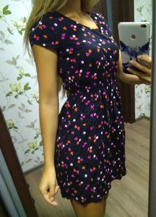 Платье платице сарафан крутой размер 8
