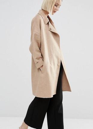 Шерстяное пальто selected femme