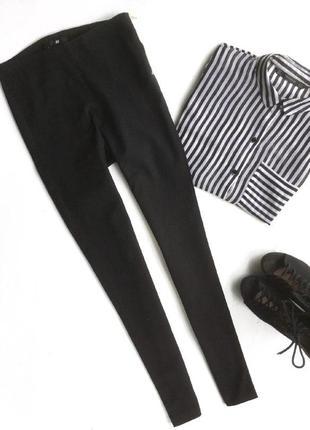 Черные классические брюки h&m
