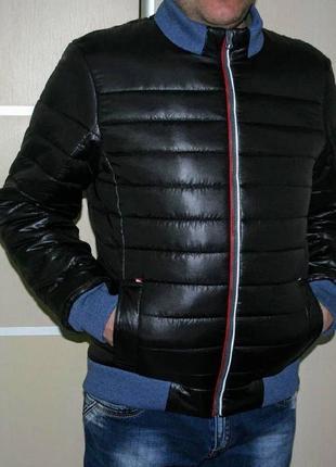 Куртка осенняя, утепленная, бомбер.