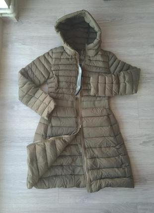 Новый. пуховик add пальто/парка/куртка. размер it42 (xs-s) италия 100% пух