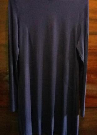 Платье чернильного цвета р 48-50