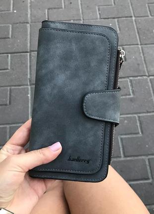Очень вместительный кошелек-клатч-портмоне baellerry