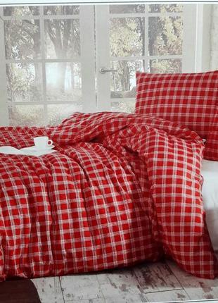 Постельное белье из фланели (байка) турция евро cotton collection