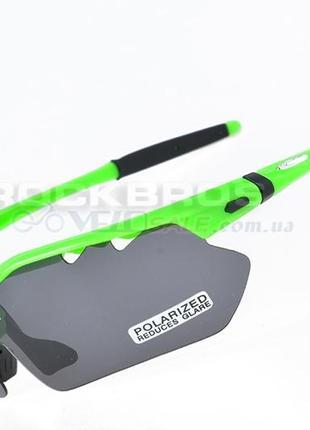 Спортивные очки rockbros polarized 5 линз вело