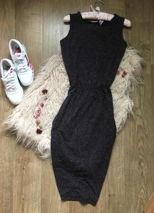 Платье миди по фигуре m g21