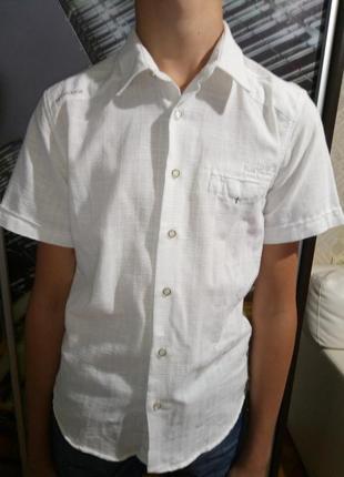 Нарядная , стильная школьная рубашка.
