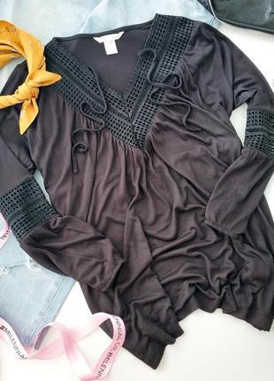 Шикарная блуза h&m