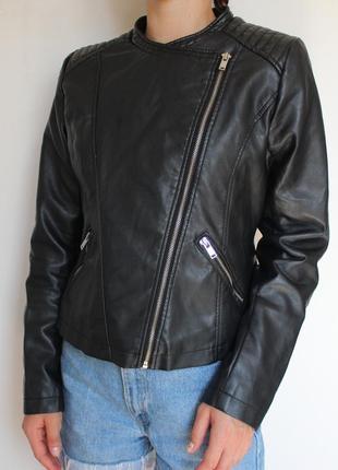 Atmosphere кожаная куртка косуха