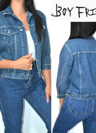 Куртка джинсовая бойфренд оверсайз s.oliver