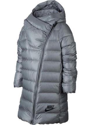 75% пух. новый, детский пуховик nike парка/куртка/пальто (м,10-12 лет,137-146 см)