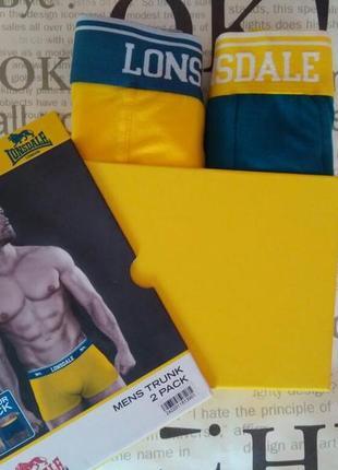 Трусы, боксеры мужские, набор 2 шт lonsdale