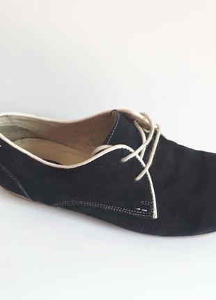 Туфли мокасины am shoe company натур замша кожа р 44