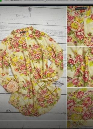 Удлиненная рубашка- туника.