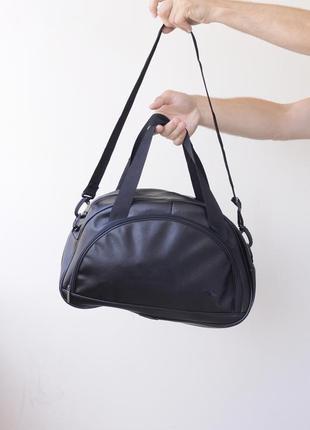 Стильная спортивная сумка для спортзала эко кожа! распродажа!