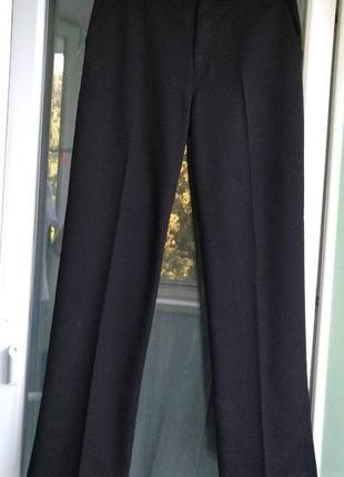 Брюки george р.164-170 крупному подростку 14-15лет, черные штаны, форма