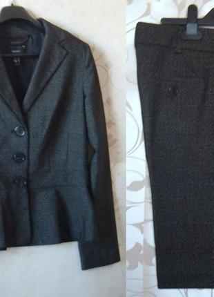 Женский костюм mango (пиджак, 40 р. + шорты, 36 р.)