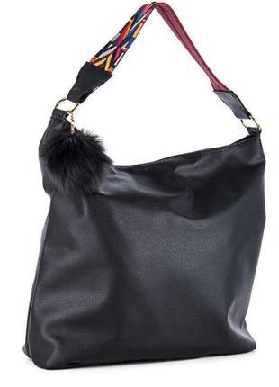 Сумка шоппер трендовая сумочка тоуд шопер с ручкой в этно орнамент