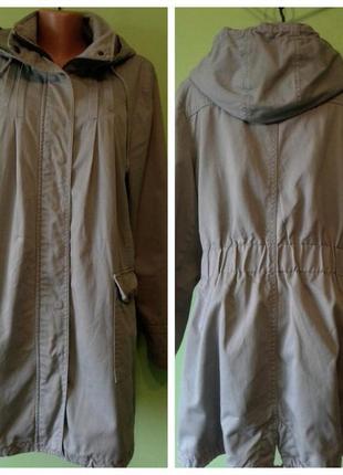 Куртка парка демисезонная 12-14 размер