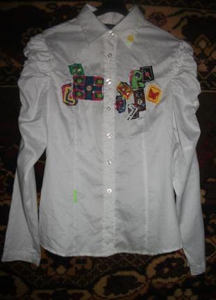Рубашка,блуза в молодежный принт