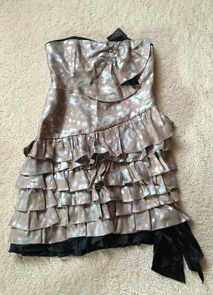 Премиум бренд marc jacobs.  шикарное  платье из шёлка🎀🎀 размер 4,