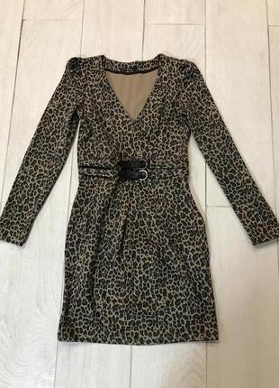 Леопардовое платье кира пластинина