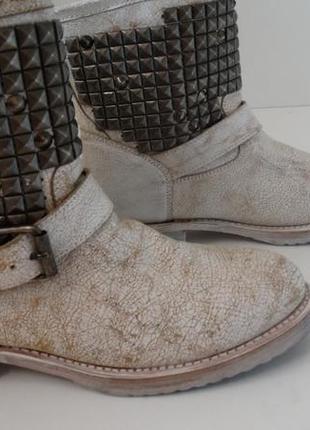Демисезонные кожаные ботинки ash