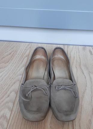 Туфли замшевые  ноbbs p.37