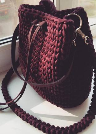 Модная сумка hand made