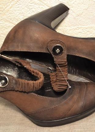 """Р.38 италия,""""kimkey"""",100% натуральная кожа! эксклюзив! изящные, супер удобные туфли"""