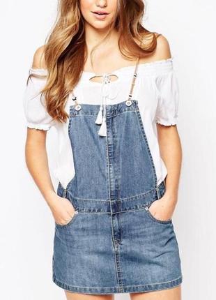 Крутой джинсовый сарафан,комбинезон,платье!!