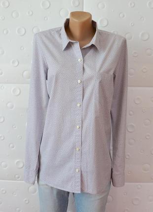 Классическая рубашка свободного кроя gap