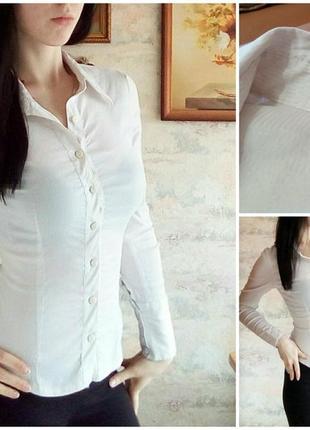 Приталенная блуза