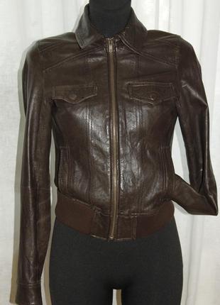 Кожаная куртка_ натуральная кожа