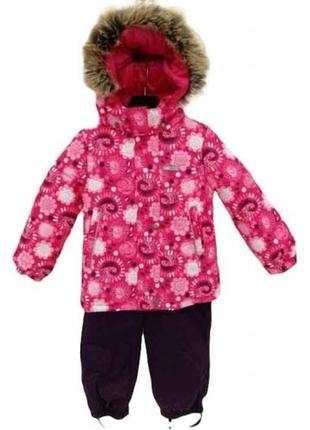Зимний комплект для девочки lenne roberta. размеры 104, 116, 128 и134.
