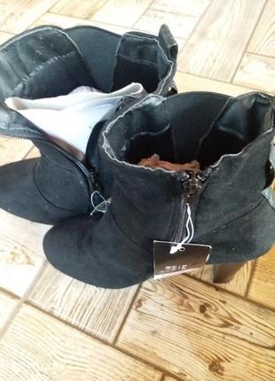Ботинки на платформе и каблуке германия
