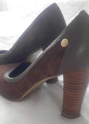 Туфли замшевые 39 размер