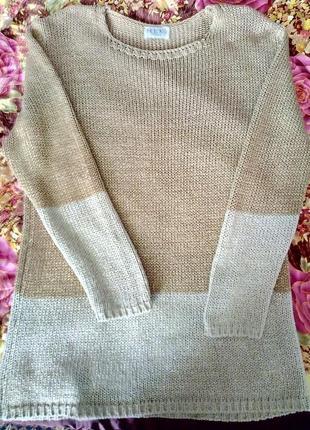Удлиненый свитер-туника