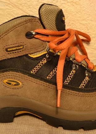 """33-33,5 сша,""""roskport"""",100% натуральная кожа! дышащие,комфортные термо кроссовки ботинки"""
