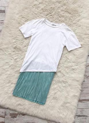Мега стильное платье-футболка от zara