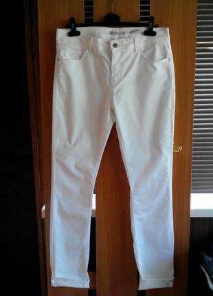 Супер джинсы скинни с высокой посадкой miss etam slim fit medium waist skinni leg