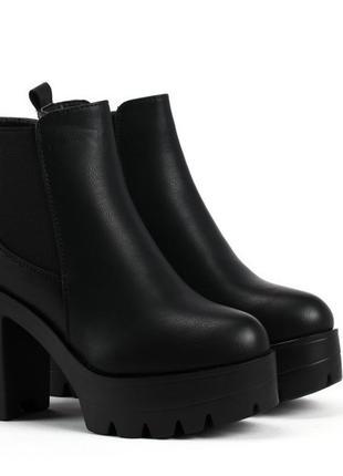 Кожаные ботинки,размер 38