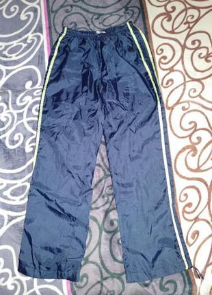 Спортивные штаны плащевка с карманами